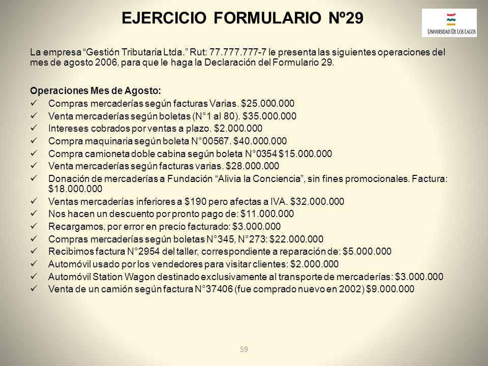 EJERCICIO FORMULARIO Nº29