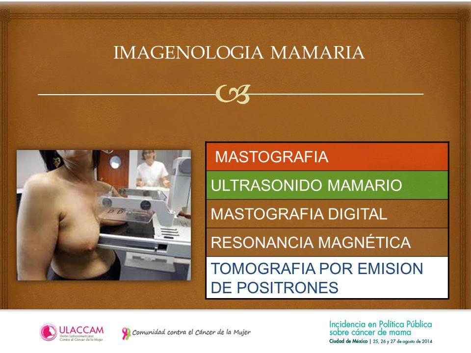 IMAGENOLOGIA MAMARIA MASTOGRAFIA ULTRASONIDO MAMARIO