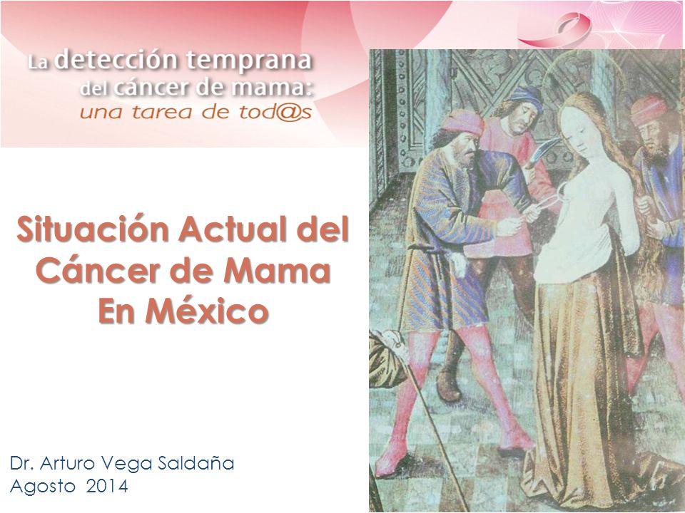Situación Actual del Cáncer de Mama En México