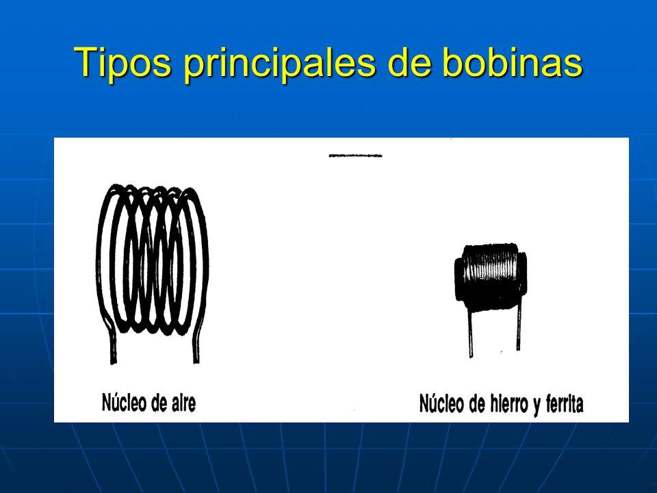 Tipos principales de bobinas