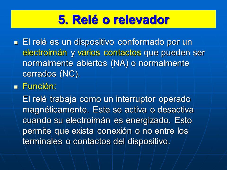 5. Relé o relevador