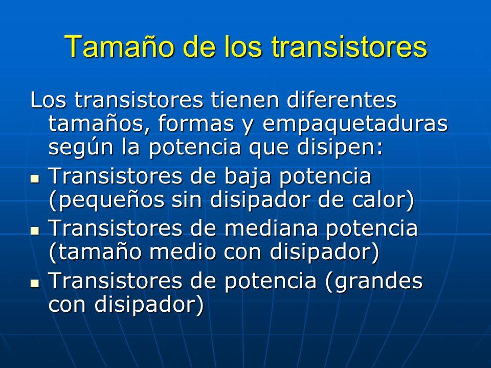 Tamaño de los transistores