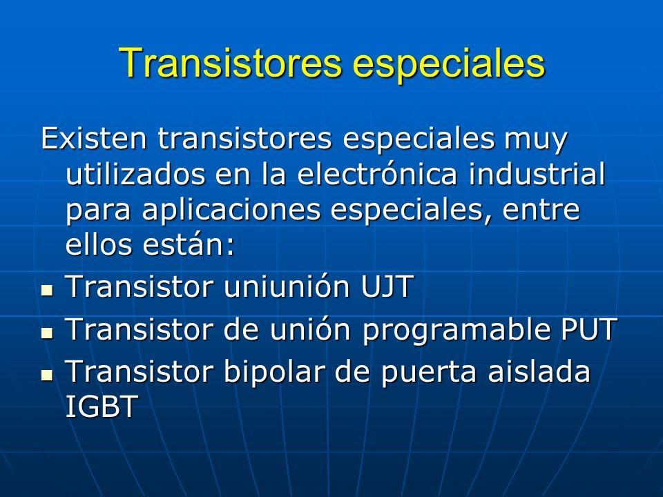 Transistores especiales
