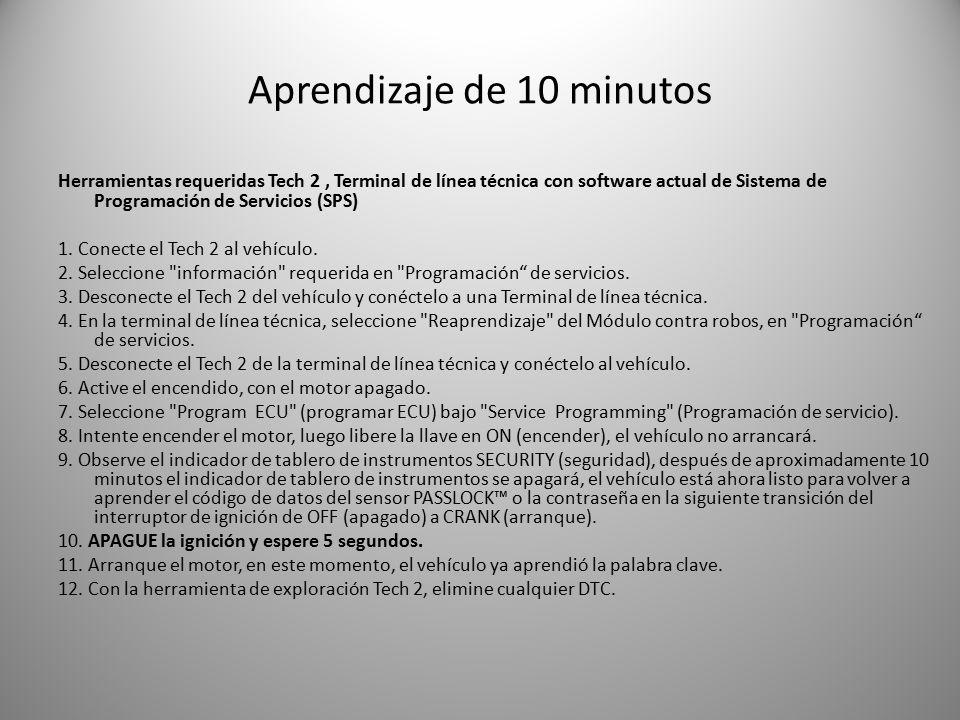 Aprendizaje de 10 minutos