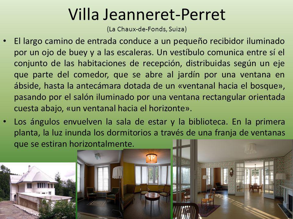 Villa Jeanneret-Perret (La Chaux-de-Fonds, Suiza)
