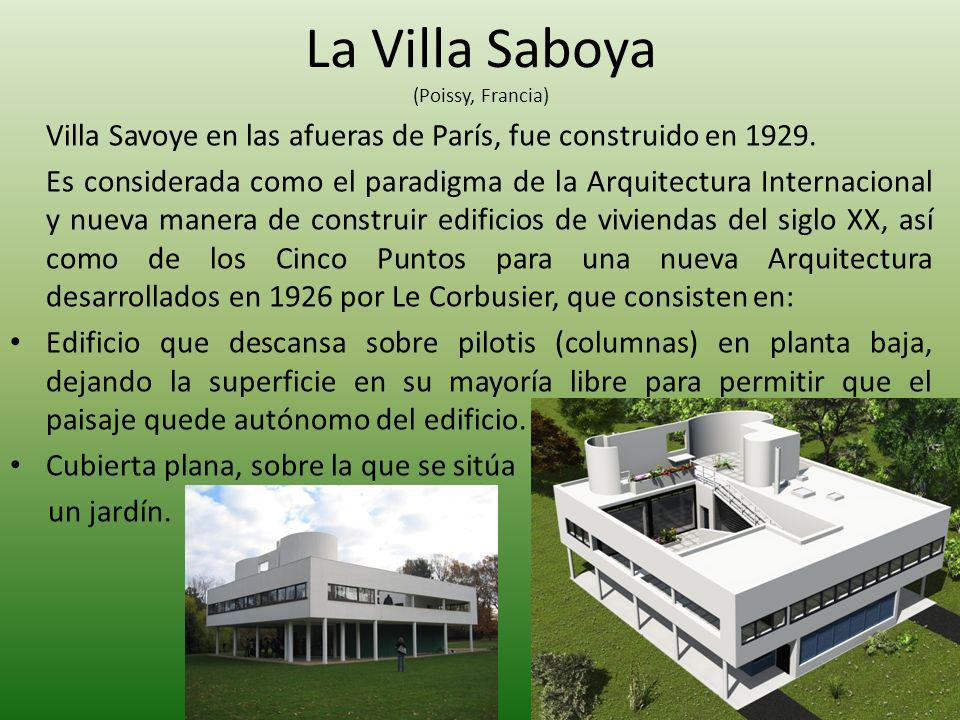 La Villa Saboya (Poissy, Francia)