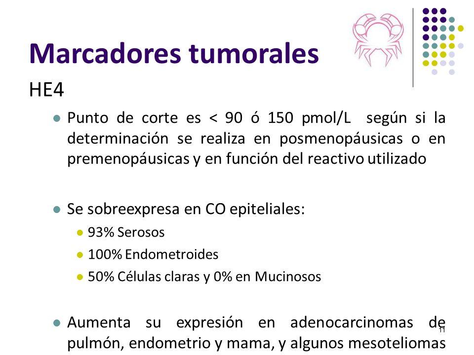 Marcadores tumorales HE4