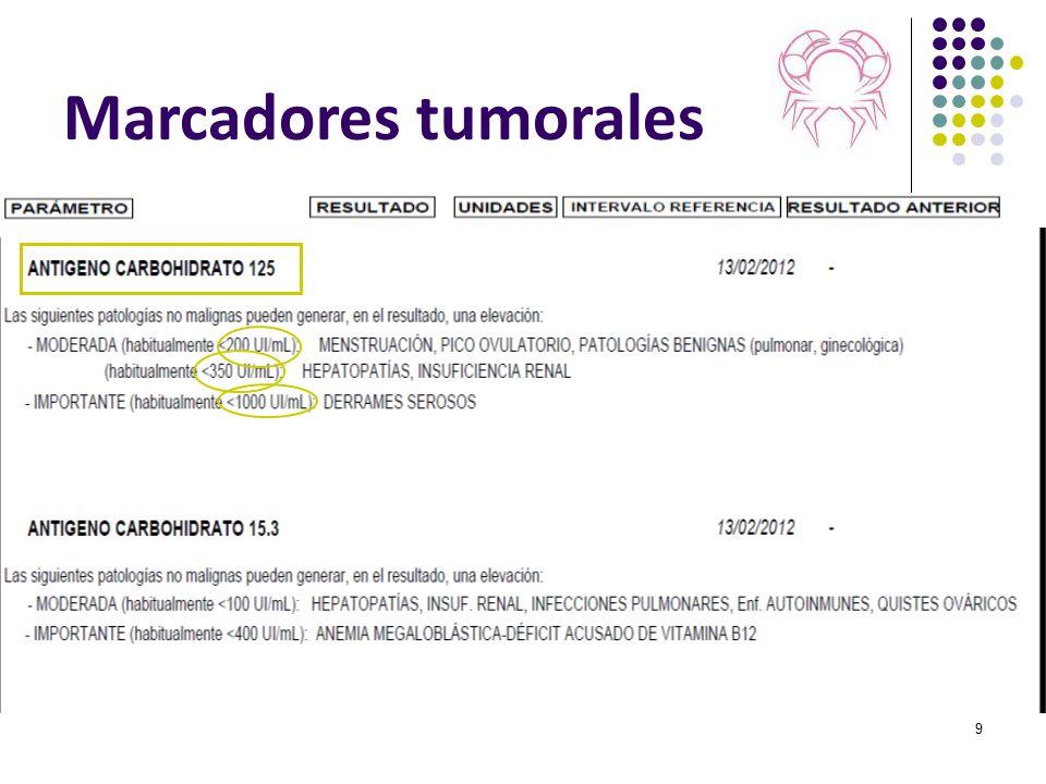 Marcadores tumorales 9
