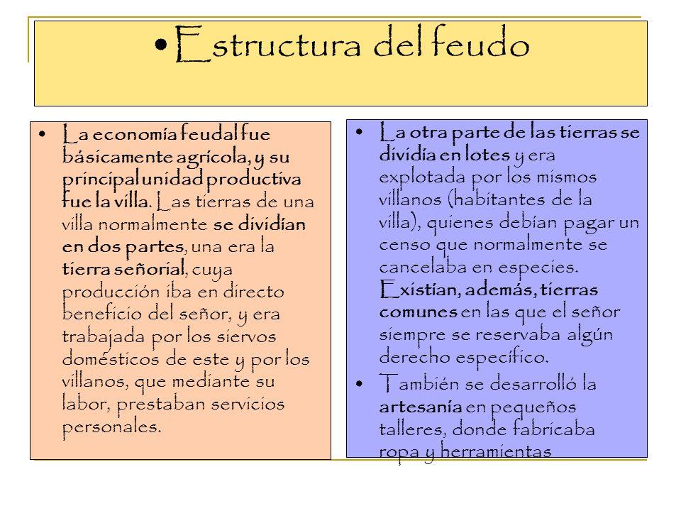 Estructura del feudo
