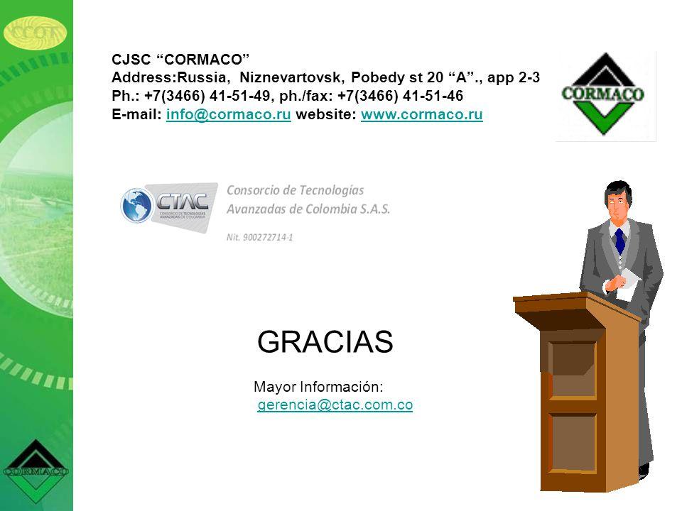 GRACIAS CJSC CORMACO