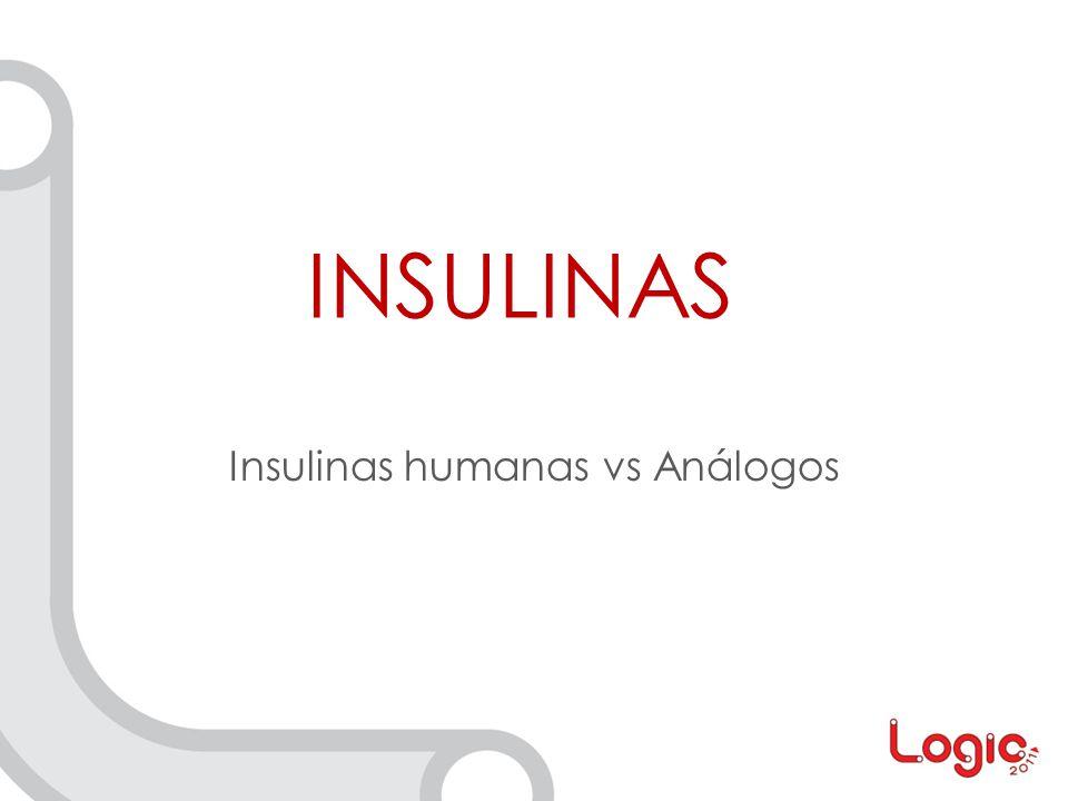 Insulinas humanas vs Análogos