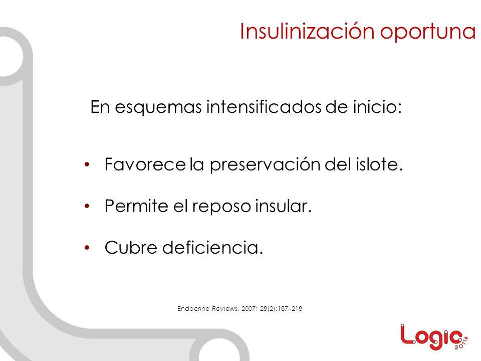 Insulinización oportuna