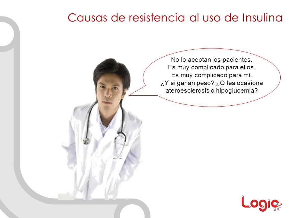 Causas de resistencia al uso de Insulina