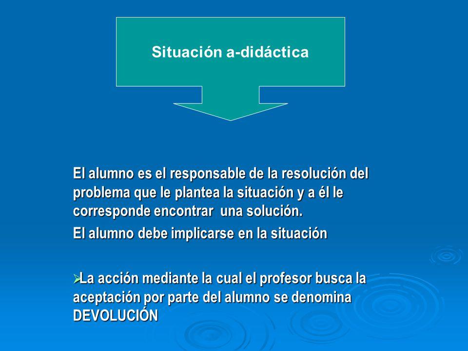 Situación a-didáctica