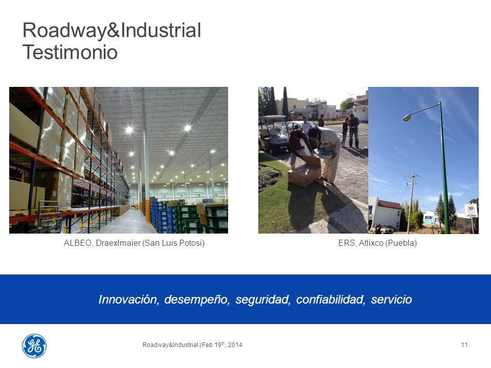 Roadway&Industrial Testimonio