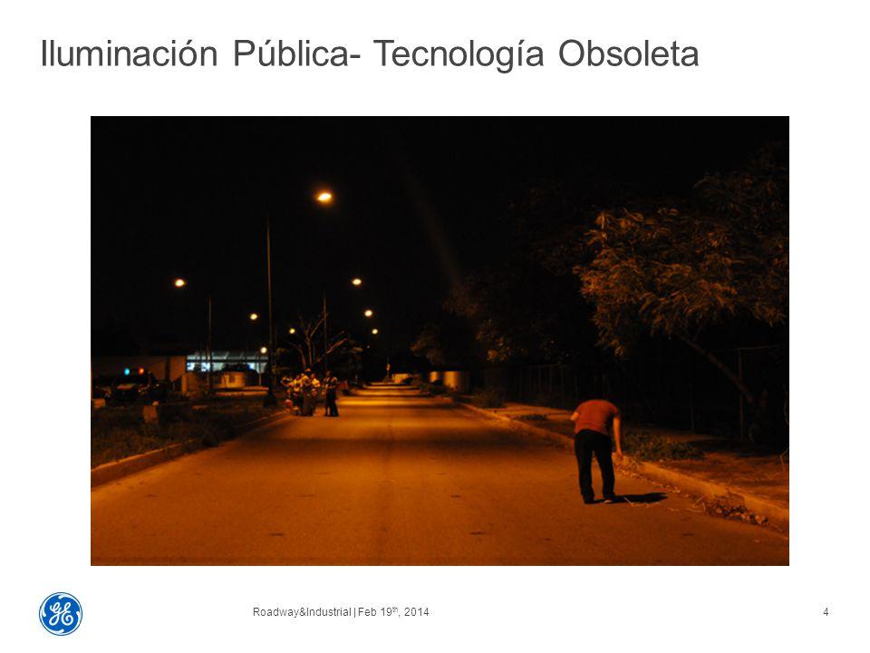 Iluminación Pública- Tecnología Obsoleta