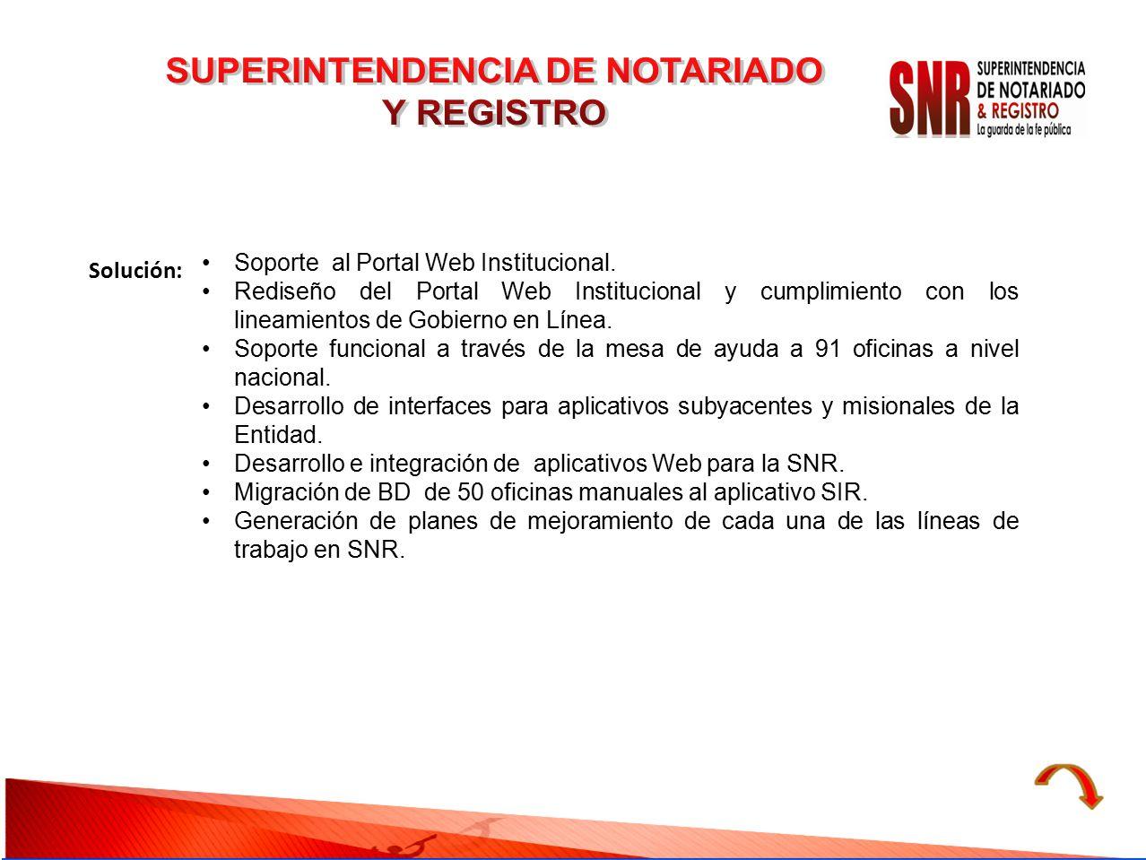 SUPERINTENDENCIA DE NOTARIADO