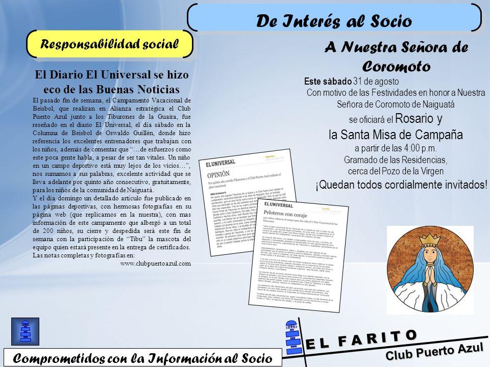 El Diario El Universal se hizo eco de las Buenas Noticias