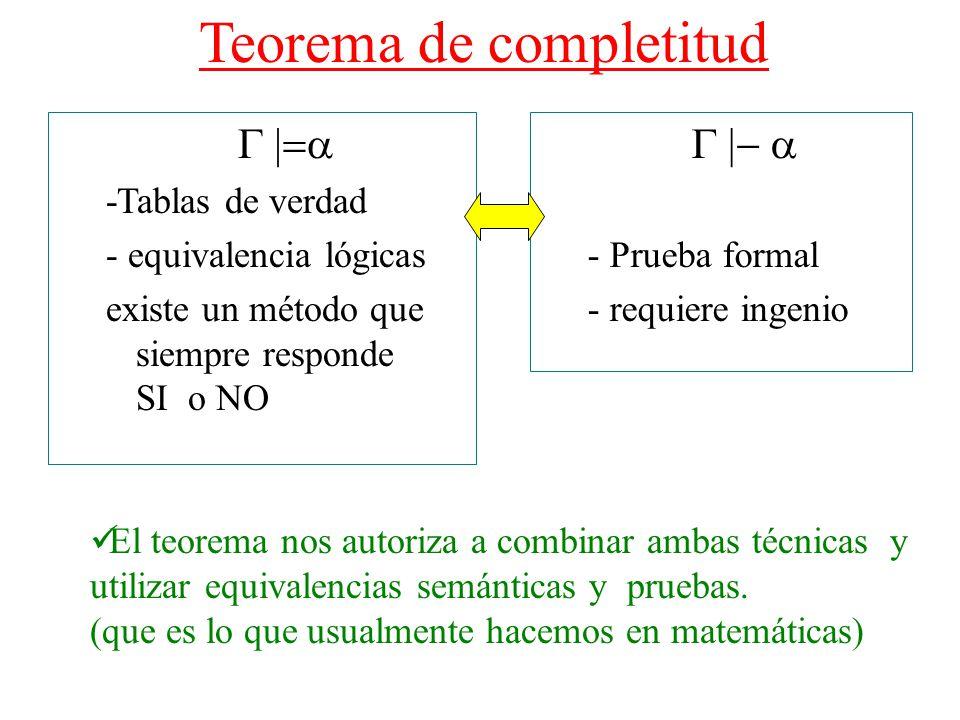 Teorema de completitud