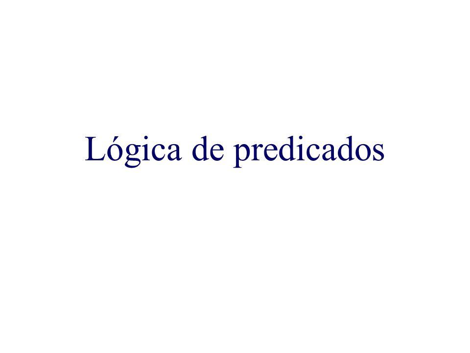 Lógica de predicados
