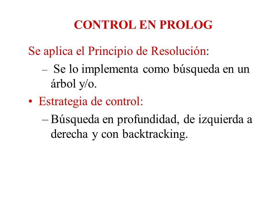 Se aplica el Principio de Resolución: