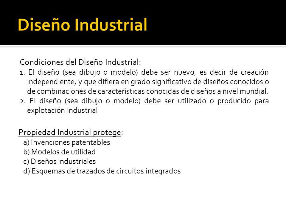 Diseño Industrial Condiciones del Diseño Industrial: