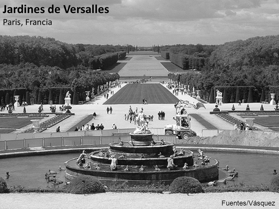 Jardines de Versalles Paris, Francia Fuentes/Vásquez