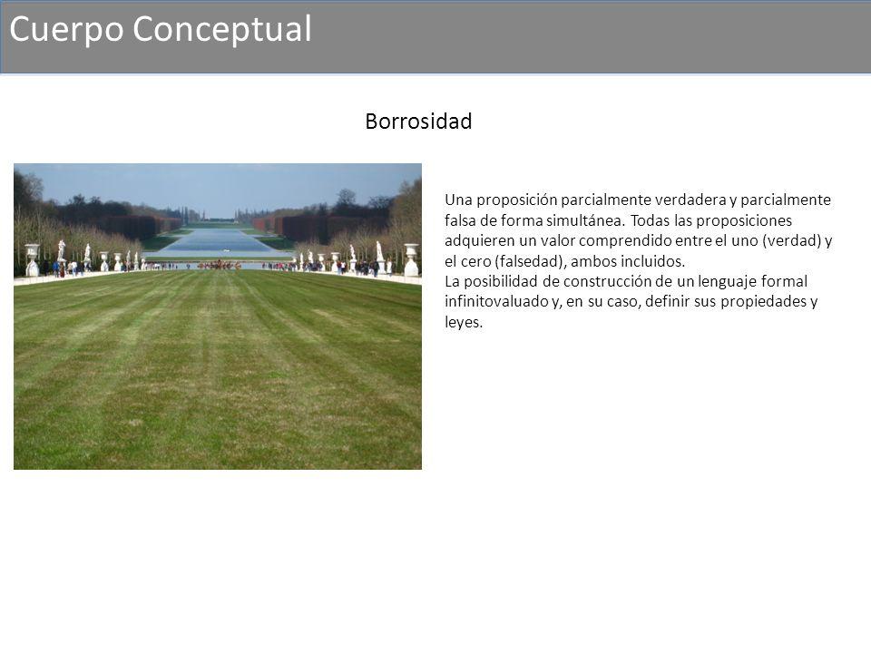 Cuerpo Conceptual Borrosidad