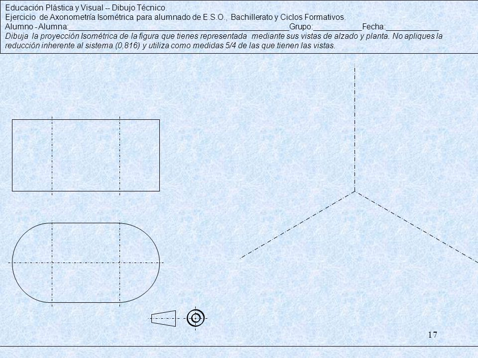 Educación Plástica y Visual -- Dibujo Técnico.