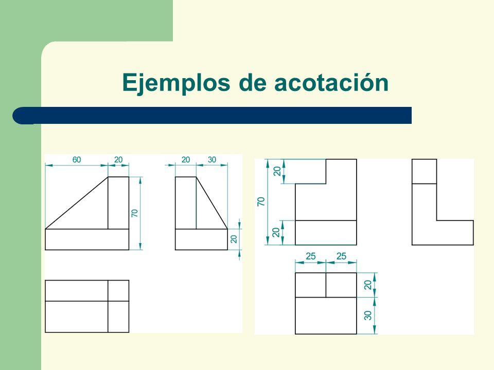 Ejemplos de acotación