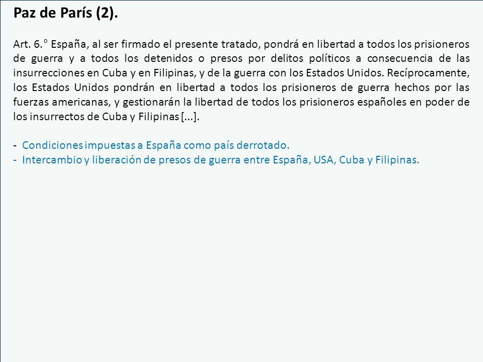 Paz de París (2).