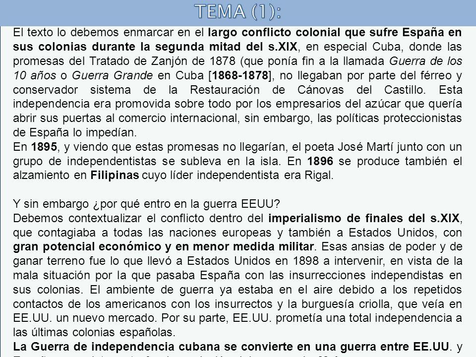 TEMA (1):