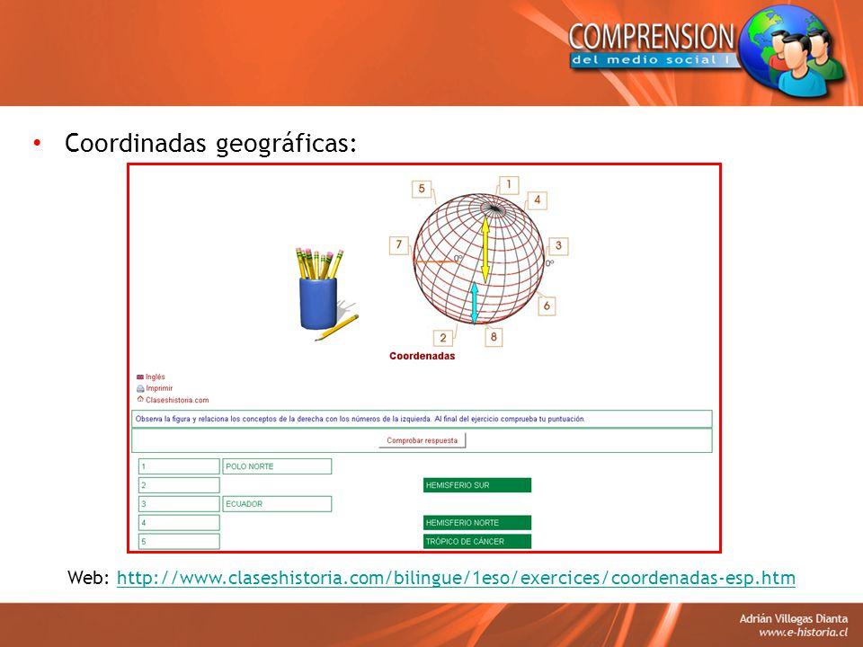 Coordinadas geográficas: