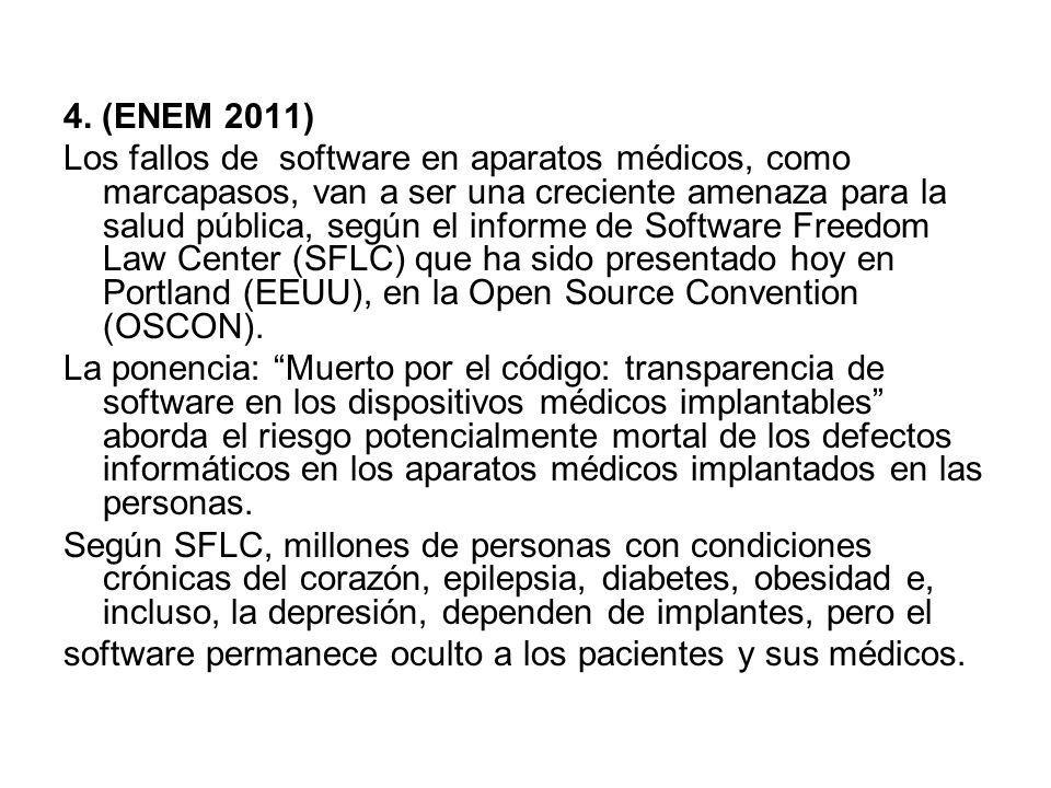 4. (ENEM 2011)