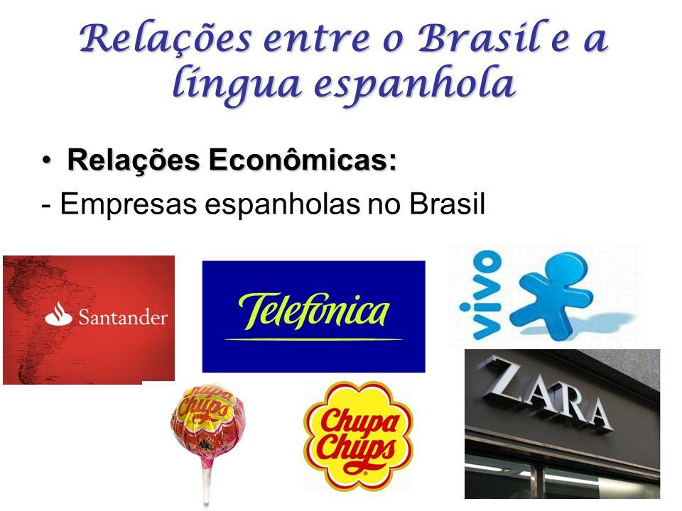 Relações entre o Brasil e a língua espanhola