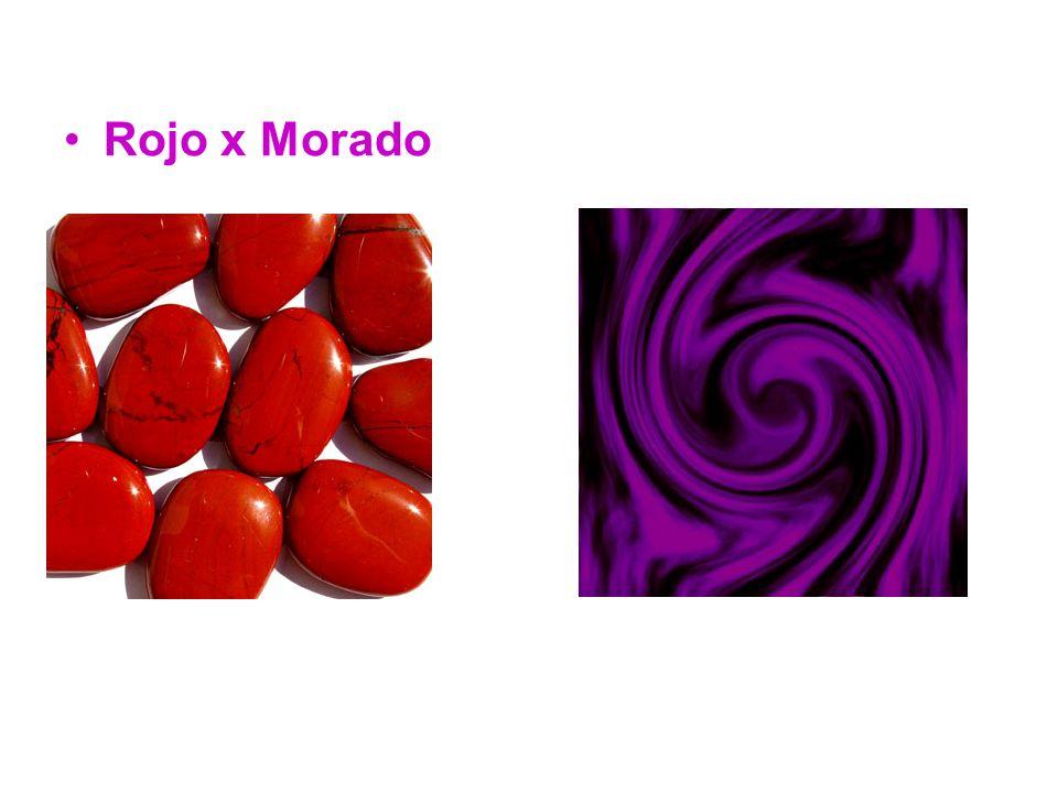 Rojo x Morado