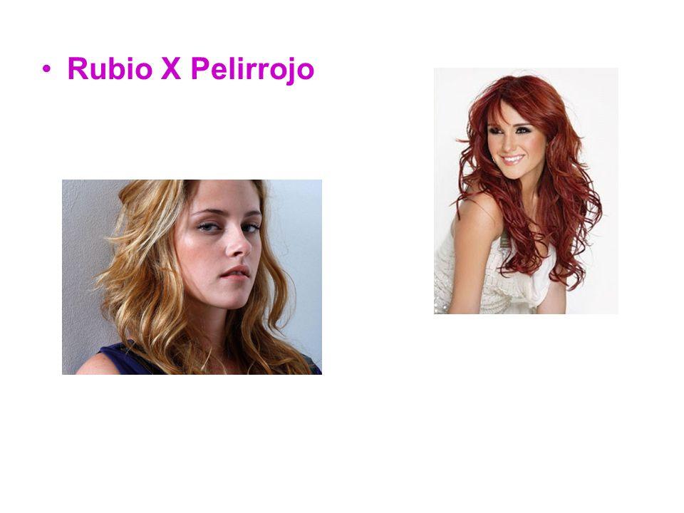 Rubio X Pelirrojo