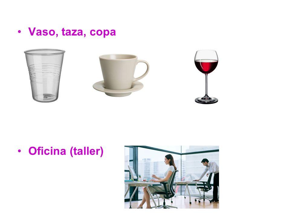 Vaso, taza, copa Oficina (taller)