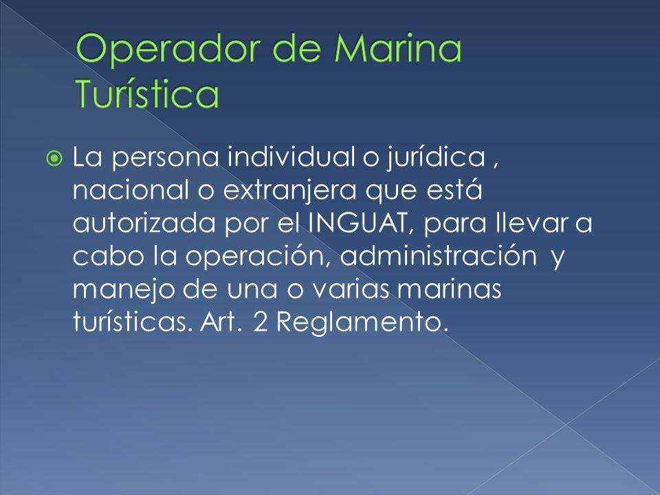 Operador de Marina Turística