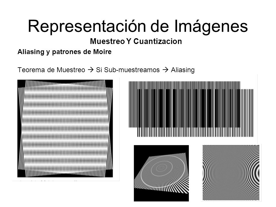 Representación de Imágenes