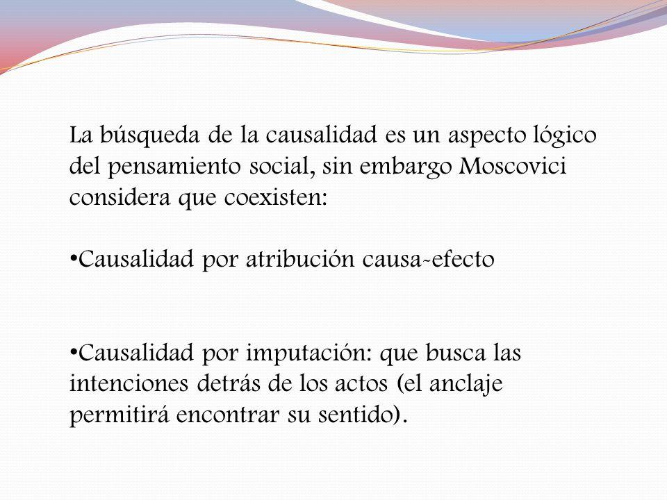 Causalidad por atribución causa-efecto