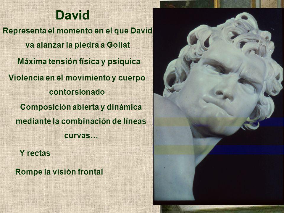 David Representa el momento en el que David