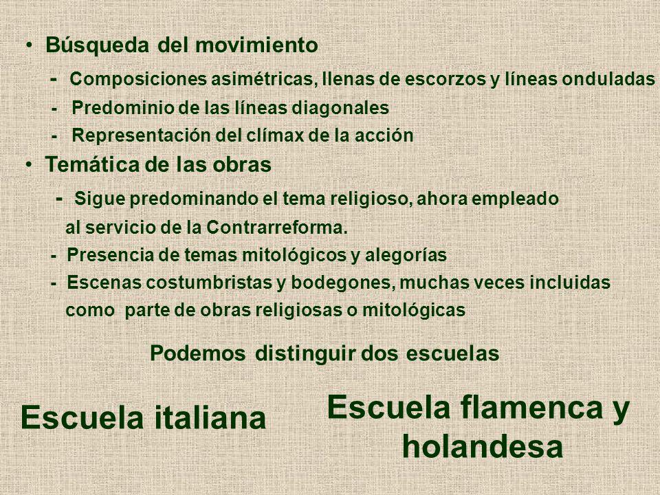 Escuela flamenca y holandesa