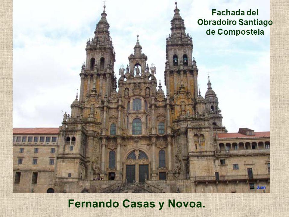 Fachada del Obradoiro Santiago de Compostela
