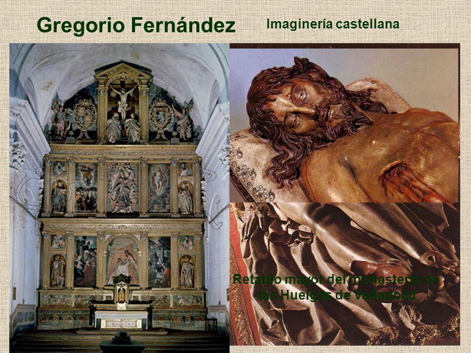 Retablo mayor del monasterio de las Huelgas de Valladolid