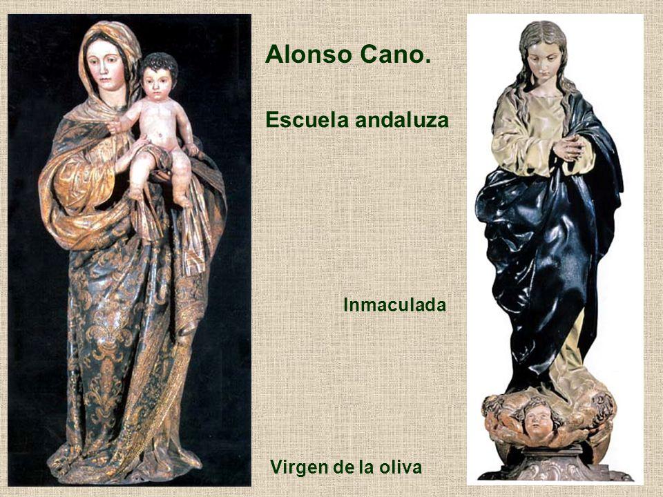 Alonso Cano. Escuela andaluza Inmaculada Virgen de la oliva