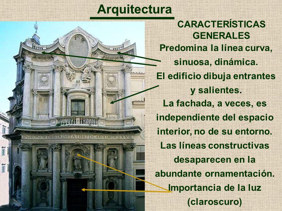 Arquitectura CARACTERÍSTICAS GENERALES
