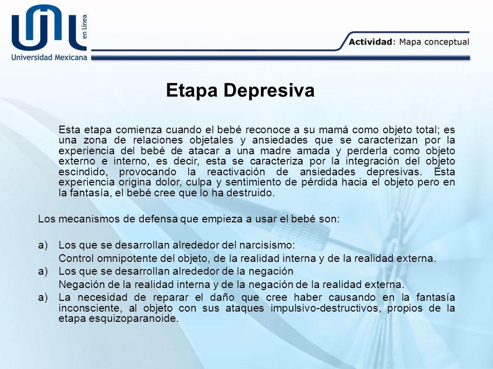 Etapa Depresiva