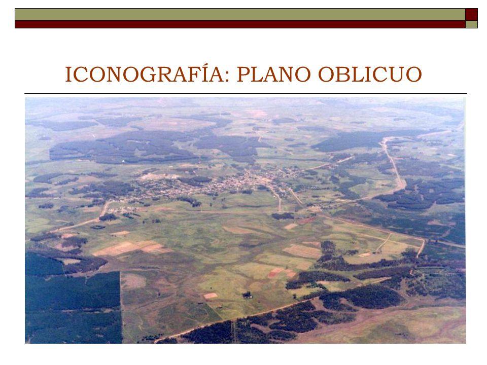 ICONOGRAFÍA: PLANO OBLICUO