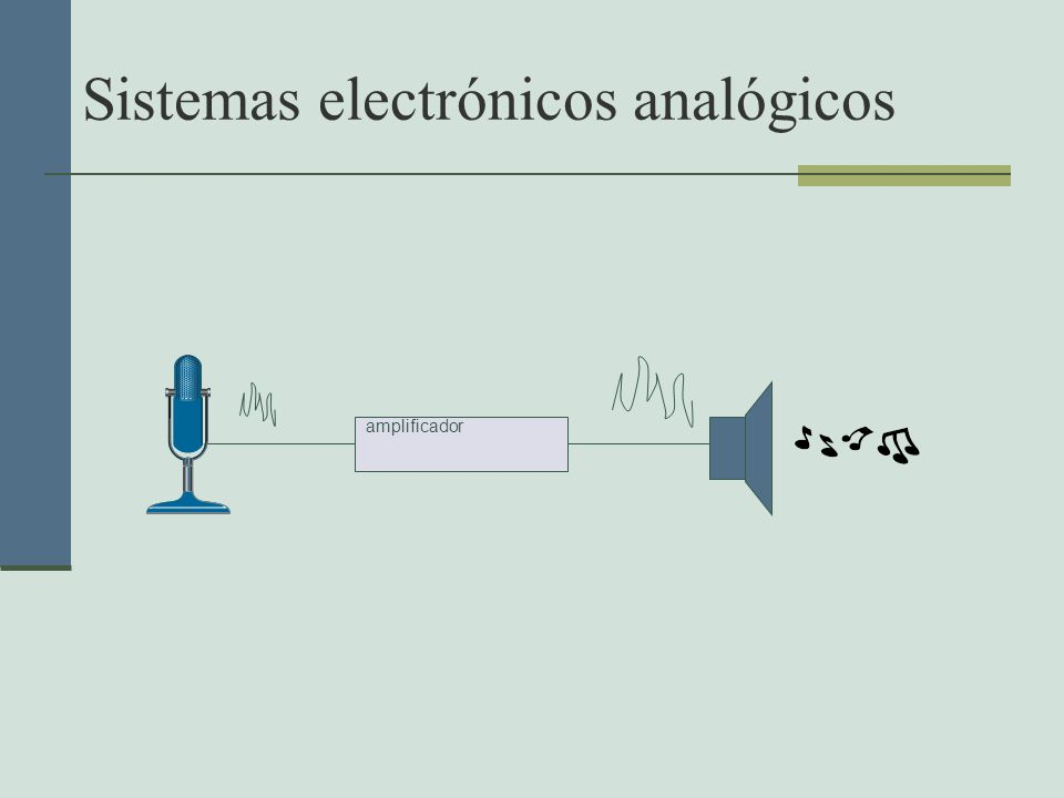 Sistemas electrónicos analógicos